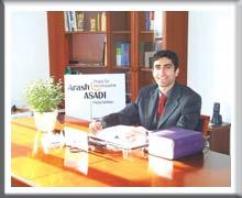 Auf den internetseiten des zentrums für homöopathik arash asadi